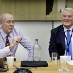 Dr Max Atkinson & Lord Ashdown Image: Parliamentary copyright/Catherine Bebbington